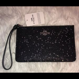 Coach Wristlet F38641 Star Glitter Small